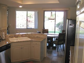 La Quinta condo photo - Kitchen Looking out to Lake