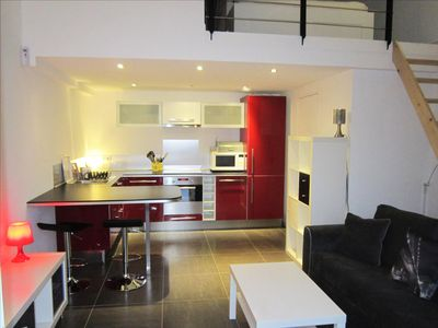 Superb studio equipped with every comfort for 1-4 people (2 adults / 2 children)