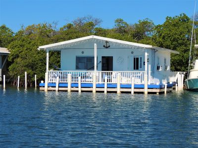 Beach Front, Water Front, Stilt House On The Water