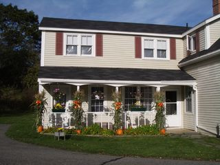 East Machias house photo - Autumn Farmer's Porch