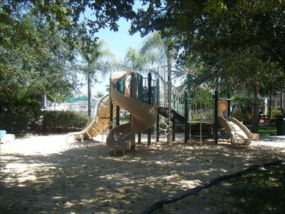 Play area, Basketball courts, Tennis courts