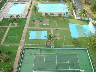 Luquillo condo photo - View of Pool and ball courts