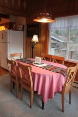 Whiteface Mountain chalet photo - Dining Room seating for 6 with great views
