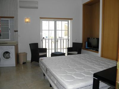 Fully equipped one for 2 people in Alvor city center and close beachen