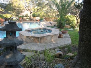 San Antonio house photo - Shaded Spa