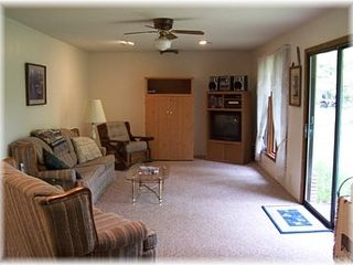 Gladwin house photo - Living room.