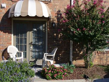 Nashville condo rental - Your condo entrance which has an assigned parking spot right outside your door.