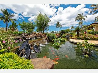 Kapolei villa photo - Stroll the Colorful Gardens and Koi Pond