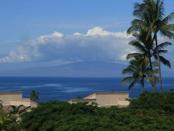 You'll be treated to views of the Pacific and the Island of Lanai!