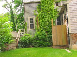 Vineyard Haven house photo - backyard and outdoor shower