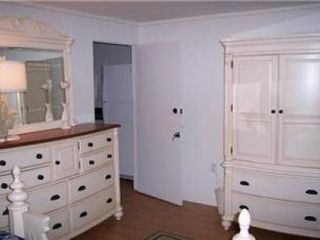 Rehoboth Beach cottage photo - Little Cottage Bedroom. Door leads to all new bathroom and dressing room.