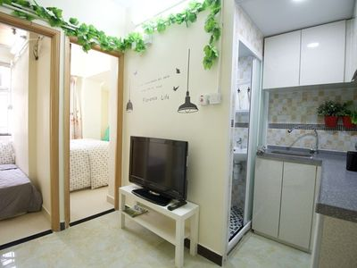 image for Cozy 2Bdr Apt 1-5 ppl beside MTR Exit