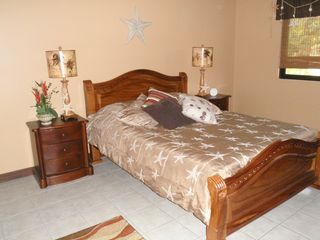 Playa Hermosa house photo - Starfish Themed Queen bedroom. Large closets not shown.