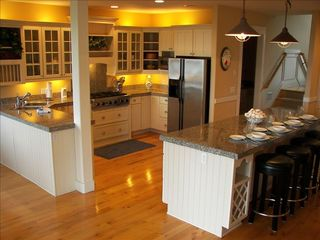 Poulsbo house photo - Spacious Chef's Dream,Gourmet, Entertainment, Kitchen Flows into Huge Great Roo