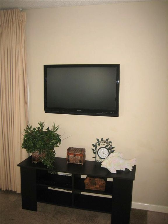 42 in LCD TV in Living Area w/ DVD