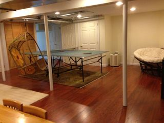 East Hampton house photo - finished basement/playroom