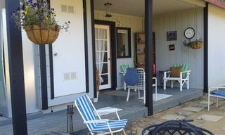 Monterey house photo - Enjoy the private back porch and listen to all those birds sing you a song...