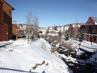 Breckenridge condo photo - The Blue River Runs Through It