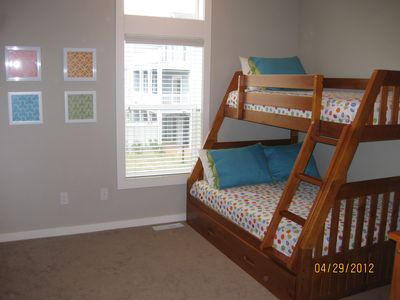 Corolla villa rental - Pyramid Bunk with trundle