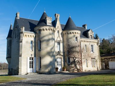 Enchanting 19th Century Fairy-tale Castle Located Among Vines Close to Bordeaux