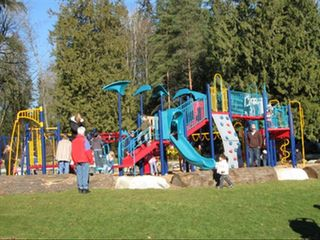 North Vancouver house photo - Cates Park Playground. Children's paradise!