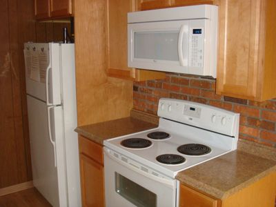 All new cabinets and countertops, 2011