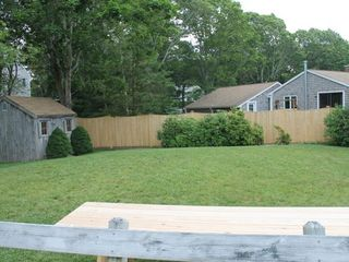 Bourne cottage photo - Nice yard to enjoy playing outdoor games.