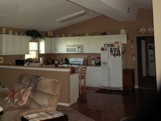 Okeechobee house photo - View of kitchen from living room, open and great for entertaining