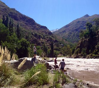 Our Beach on The River Maipo
