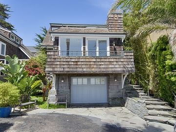 Pleasure Point house rental - House from the street (please note: garage is not included)