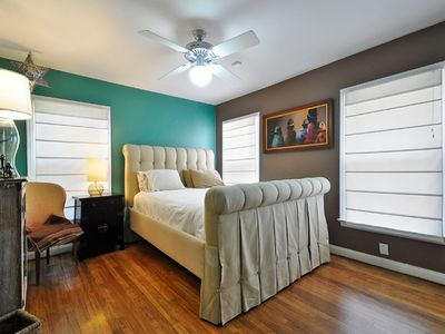 Austin house rental - Master bedroom. Queen.