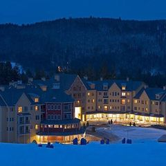 Ludlow condo photo - Okemo Jackson Gore Village at Night in Winter