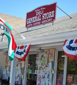 Deli and General Store within walking distance of cottage.