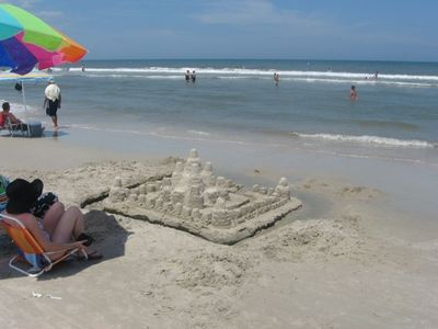 Build sandcastles with the kids