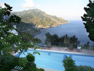 Ravello villa photo - pool