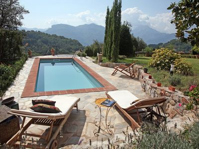 Coreglia Antelminelli villa rental - Private pool