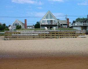 Provincetown condo photo - House from beach