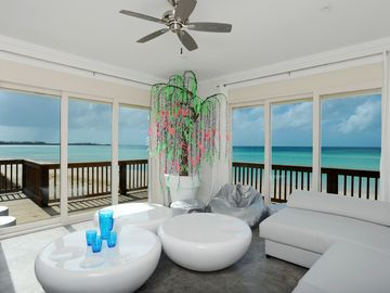 Governor's Harbour villa rental - The Chill Out Room with 180 degree beach and ocean views