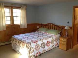 Orleans house photo - 2nd floor bedroom with 1 queen and 2 twin beds, A/C, and HDTV/DVD.