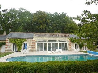Hommes house photo - View of Guest House and Pool