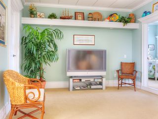 Summer Haven house photo - Separate 1st floor family room with large HDTV.