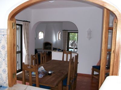 Vale de Milho villa rental - The dining room