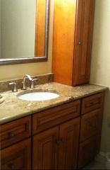 Shipyard villa photo - Guest Bathroom Vanity wih Granite Countertop