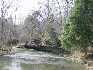 Brush Creek State Forest house photo - You'll cross beautiful Brush Creek to enter The Sanctuary