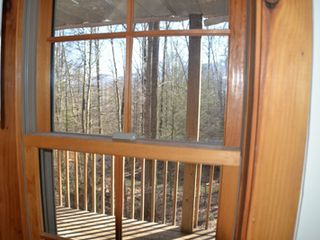 Gatlinburg chalet photo - View from the Master Suite window.