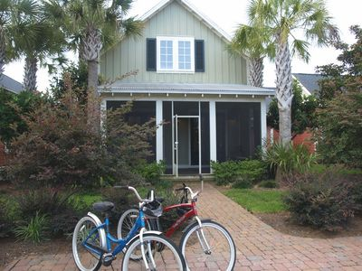 Beautuiful 2 Story Cottage that will also include 2 bikes