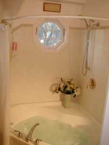Cottage bath for 2 or shower.