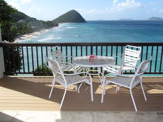 Tortola villa photo - Our ever changing calendar view.