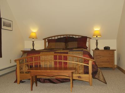 Master bedroom suite with Queen