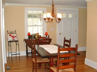 Ogunquit house photo - Ogunquit Beach Bungalow diningroom photo taken June 2012 Rentals By The Sea